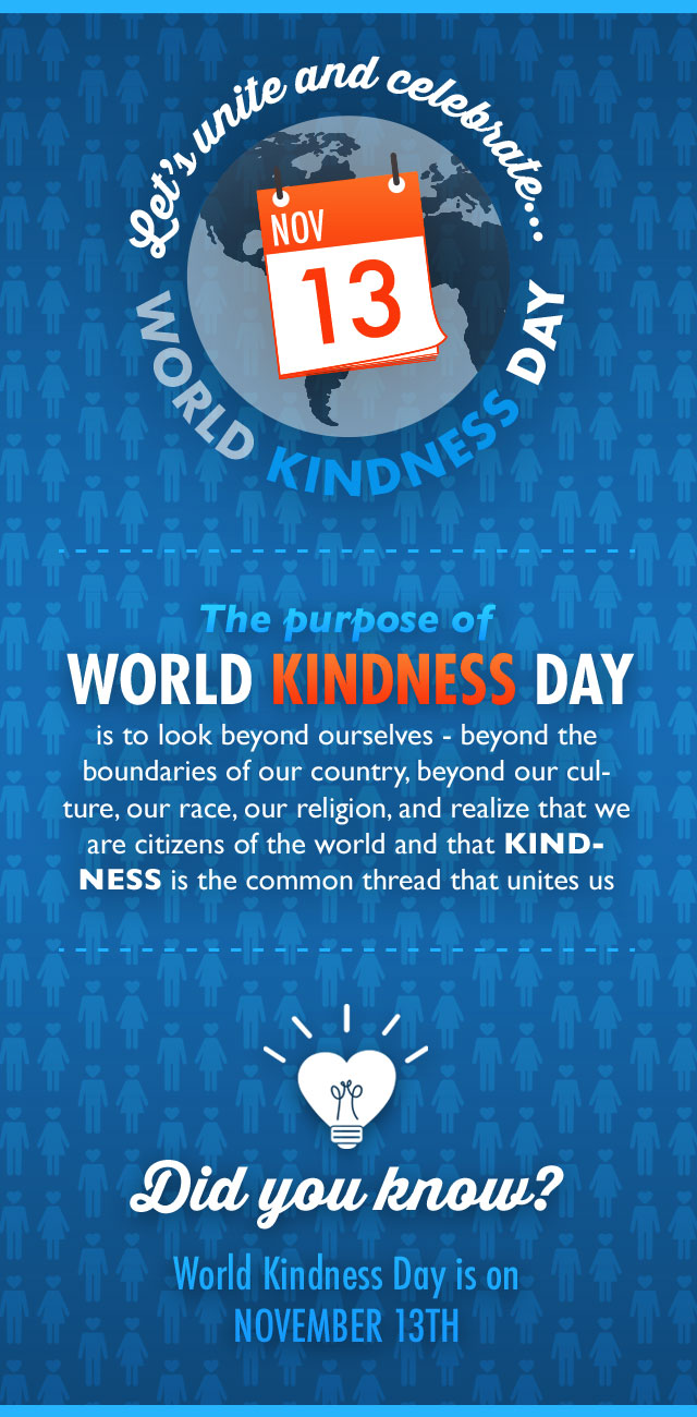Let's Unite! World Kindness Day!