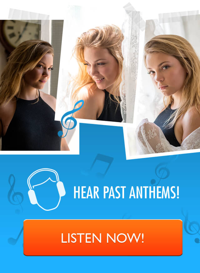 Hear Past Anthems!