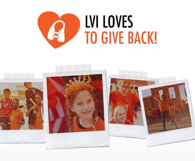 LVI LOVES TO GIVE BACK!