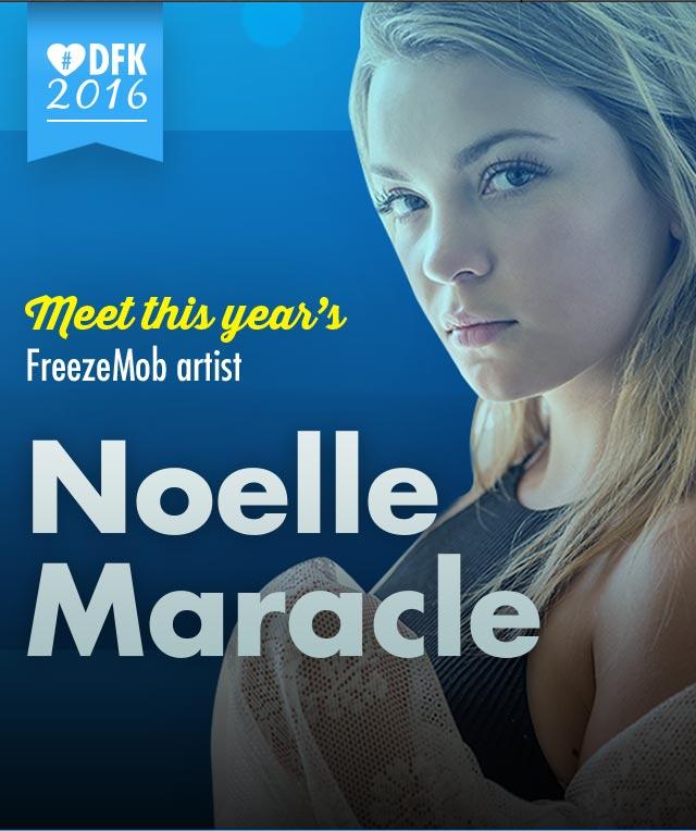 Noelle Maracle - FreezeMob Artist