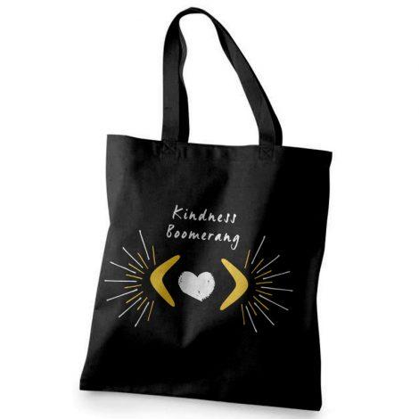 kindness-boomerang-tote-bag