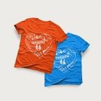 t-shirt-blue-orange